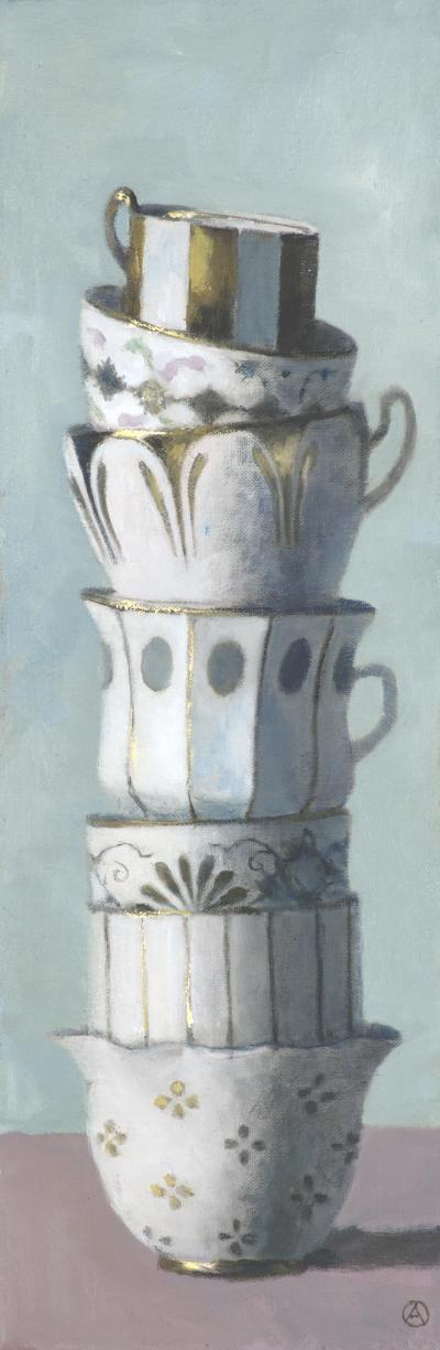 Olga Antonova Gilded Cup Tower
