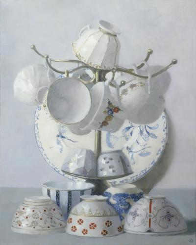 Olga Antonova Overflowing Cups