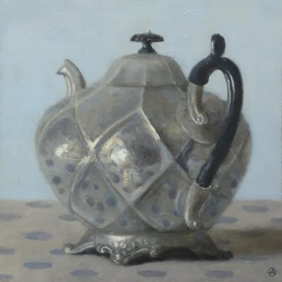 Olga Antonova Teapot with Black Handle