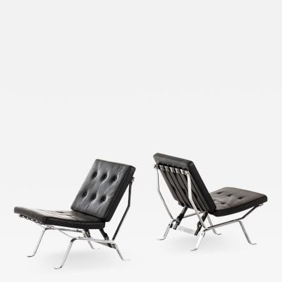 Olivier Mourgue Easy Chairs Produced by Airborne