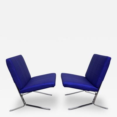 Olivier Mourgue Pair of Lounge Chairs by Olivier Mourgue