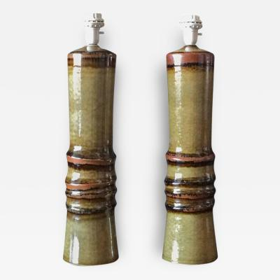 Olle Alberius A Pair of Large Table Lamps by Olle Alberius for R rstrand