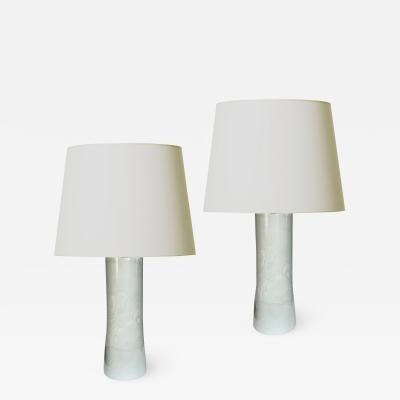 Olle Alberius Mod Pair of Lamps in with Jaunty Cloud Design by Ole Alberius