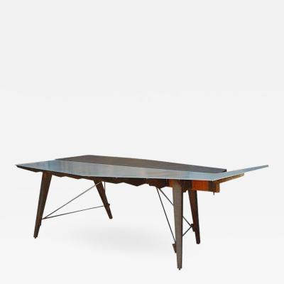 One of a Kind Industrial Studio Work Table Desk