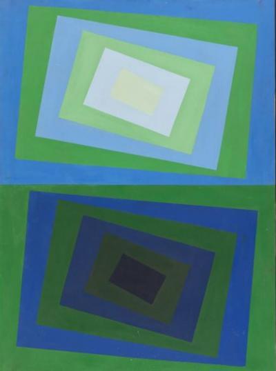 Op Art Color field Composition