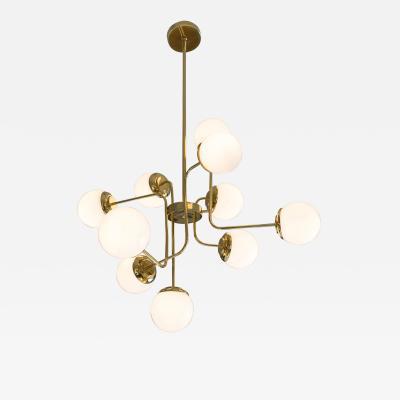 Opal chandelier