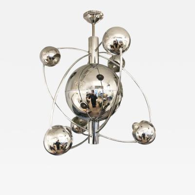 Orbital Mid Century Chandelier