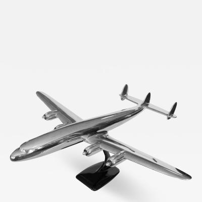 Original Aluminum Scale Model Lockheed Constellation