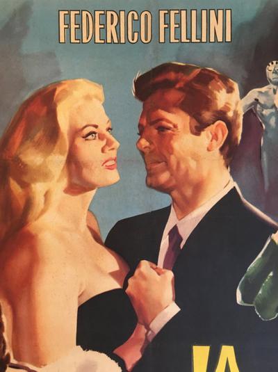 Original La Dolce Vita Film Poster 1960