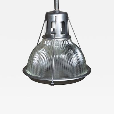 Original Vintage Industrial American Made Holophane Light