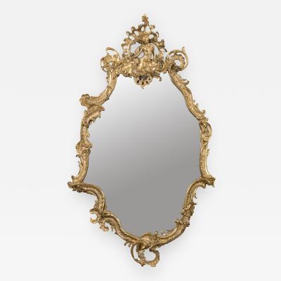Ornamented Mirror