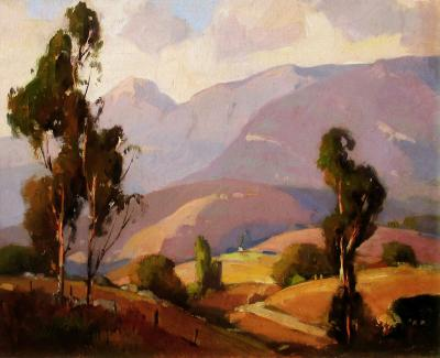 Orrin Augustine White In the Valley