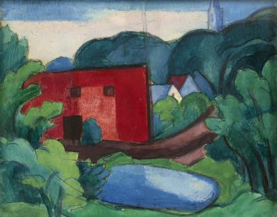 Oscar Bluemner South Braintree Massachusetts