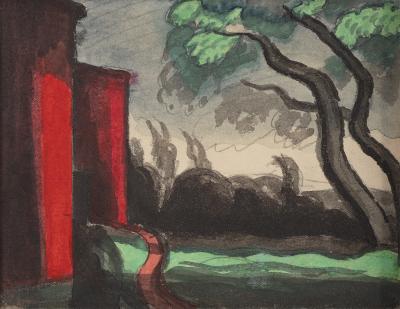 Oscar Bluemner Venus 1924