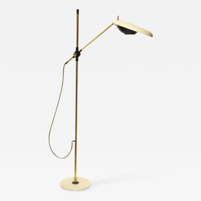 Oscar Torlasco An Articulated Floor Lamp by Torlasco Mid Century Modern