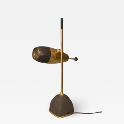 Oscar Torlasco Oscar Torlasco for LUMI MidCentury Table Lamps in brass 1955