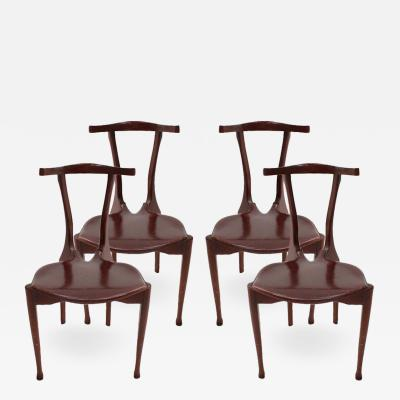 Oscar Tusquets Blanca Set of Gaulino Chairs Designed by Oscar Tusquets