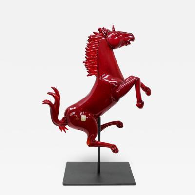 Oscar Zanetti Ferrari Horse by Oscar Zanetti