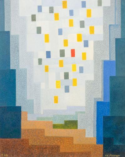 Oskar Fischinger Abstraction No 185