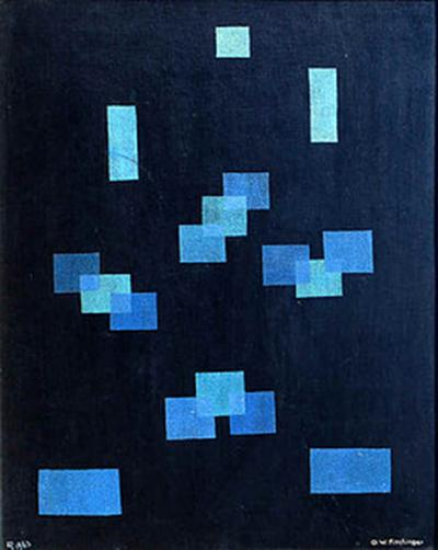 Oskar Fischinger Black and Blue