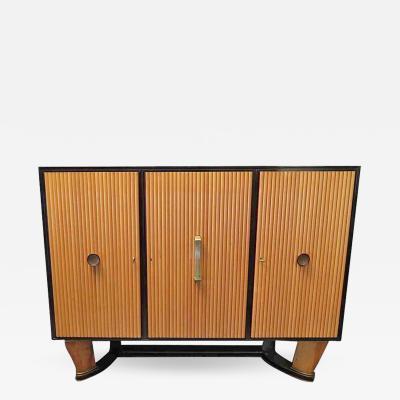 Osvaldo Borsani 1940 Borsani Italian Art Deco Sideboard or Bookcase
