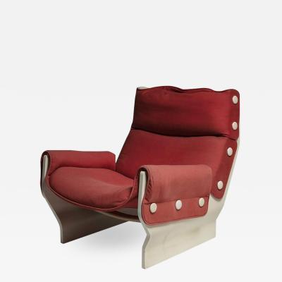 Osvaldo Borsani Canada Lounge Chair by Osvaldo Borsani for Tecno