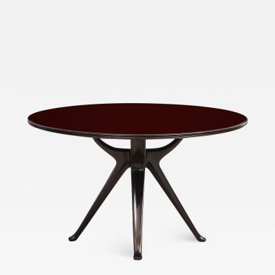 Osvaldo Borsani Circular Dining Table by Osvaldo Borsani for ABV Tecno