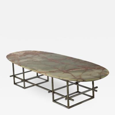 Osvaldo Borsani Huge Onyx Low Table