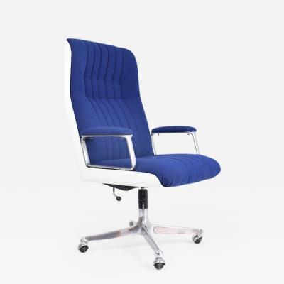 Osvaldo Borsani Italian Mid Century Office Chair by Osvaldo Borsani