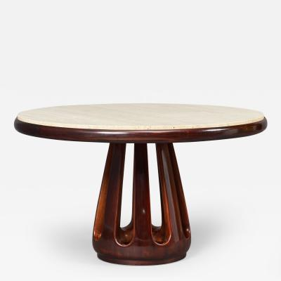 Osvaldo Borsani Italian Mid Century Sculpted Table