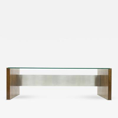 Osvaldo Borsani Large Executive Writing Desk by Oswaldo Borsani for Tecno in Wenge 1960s