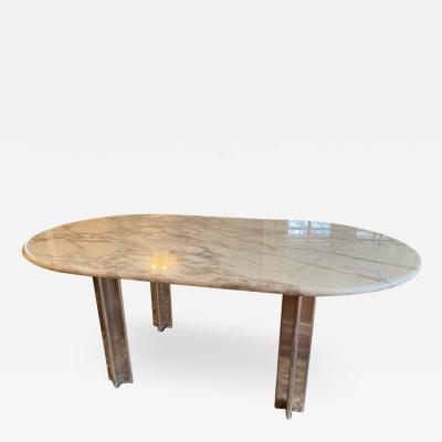 Osvaldo Borsani MODERNIST MARBLE RESIN DINING TABLE BY OSVALDO BORSANI FOR TECNO