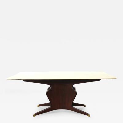 Osvaldo Borsani Osvaldo Borsani Dining Table in Mohagony and Onyx