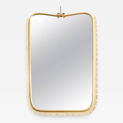 Osvaldo Borsani Osvaldo Borsani Mirror made in Italy in 1940
