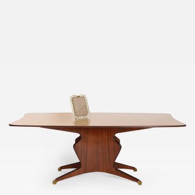 Osvaldo Borsani Osvaldo Borsani Rosewood Dining Table c 1950