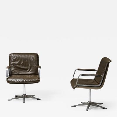 Osvaldo Borsani P126 Desk Chairs by Osvaldo Borsani for Tecno 1970s