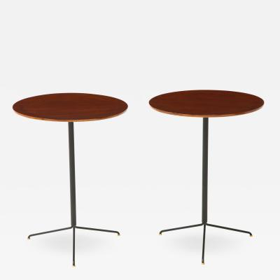 Osvaldo Borsani Pair of Side Tables Model T44