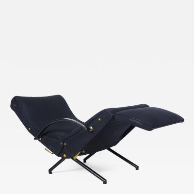 Osvaldo Borsani Rare 1st Edition P40 Lounge Chair for Tecno