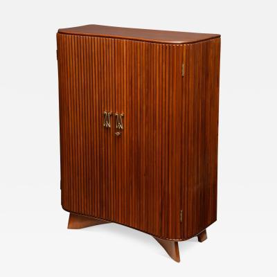 Osvaldo Borsani Rare 2 Door Cabinet by Osvaldo Borsani