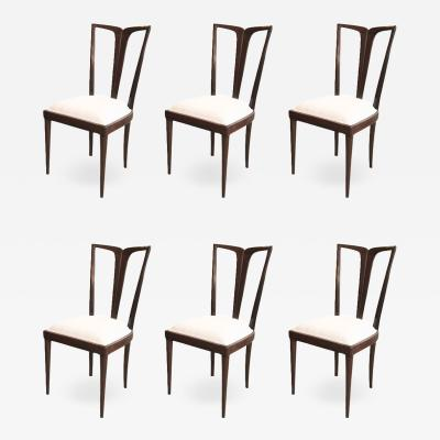 Osvaldo Borsani SET OF 6 DINING CHAIRS CHAIRS BY BORSANI