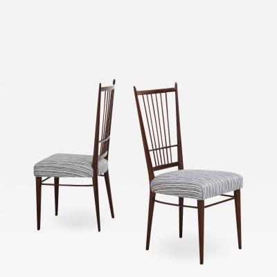 Osvaldo Borsani Set of 6 Model 6402 Dining Chairs by Osvaldo Borsani for ABV