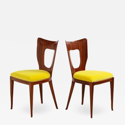 Osvaldo Borsani Set of twelve 12 Triennale Dining Chairs by Osvaldo Borsani