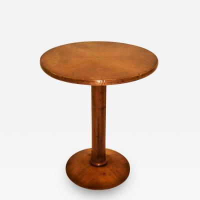 Osvaldo Borsani Style of Borsani Walnut End Side Table Made for Bloomingdales 1940s Italy