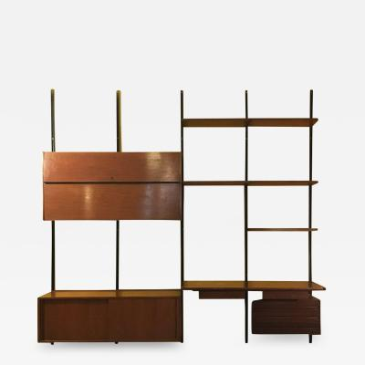 Osvaldo Borsani Wall bookcase E22 by Osvaldo Borsani for Tecno 1960s