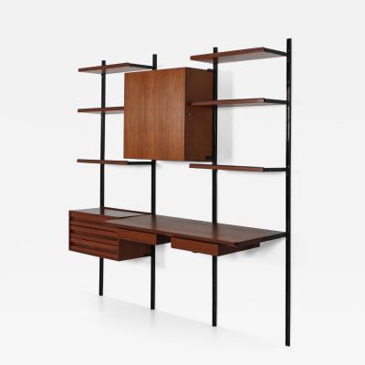 Osvaldo Borsani Wall bookcase E22 by Osvaldo Borsani for Tecno 1960s