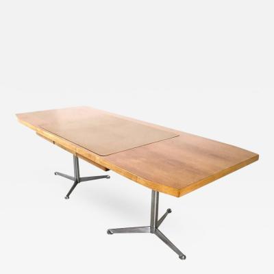 Osvaldo Borsani Walnut Writing Desk Designed by Borsani for Tecno Italy 1960s