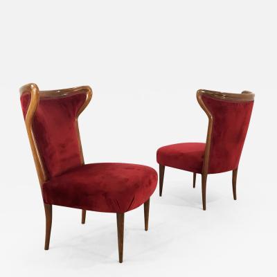 Osvaldo Borsani pair of armchairs by Osvaldo borsani from 1940