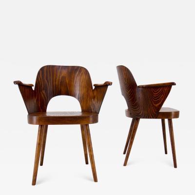 Oswald Haerdtl Set of Two Armchairs by Oswald Haerdtl 1950s