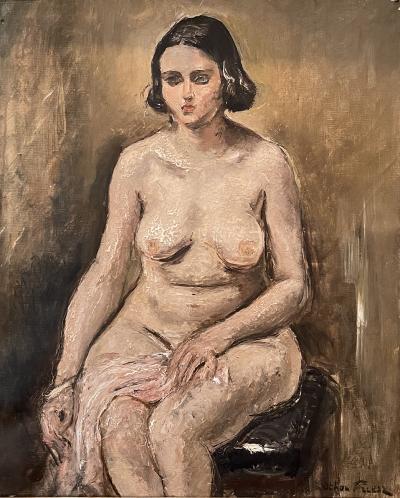 Othon Friesz Modele nu assis Seated nude model