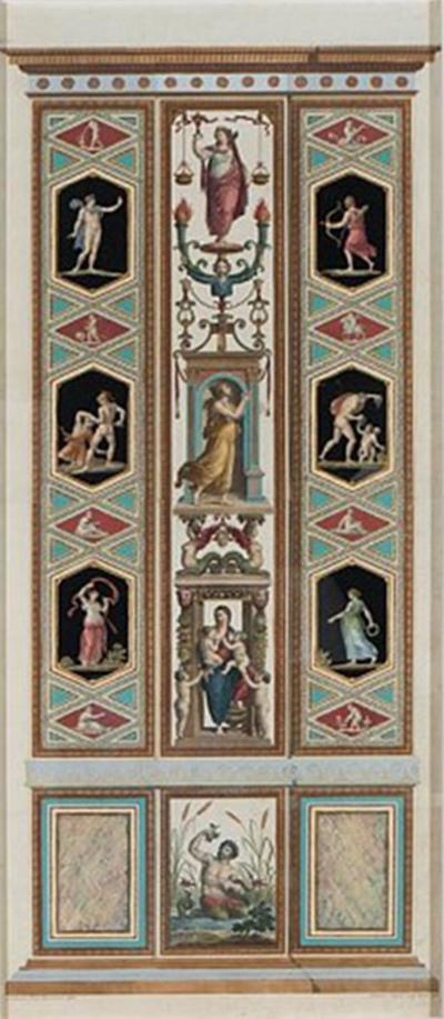 Ottaviani Volpato Set of Five Engravings by Ottaviani and Volpato After Raphael s Frescoes